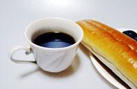おいしいコーヒーとパン