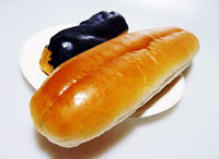 パンとチョコレート・エクレア